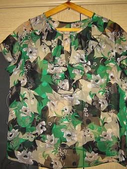 Работа с названием Шифоновая блузка