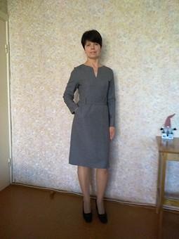 Работа с названием Офисное платье