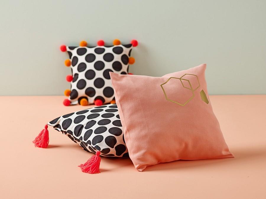 Создаём домашний уют: чехлы длядекоративных подушек своими руками