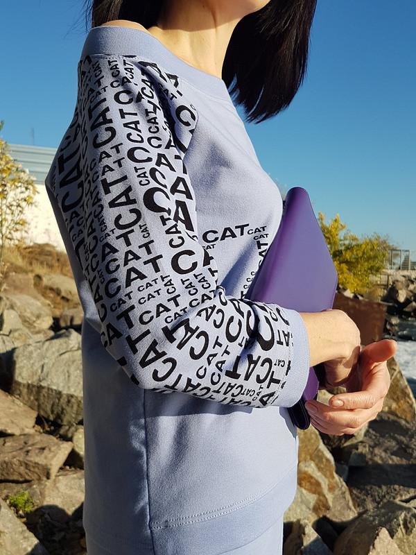 Костюм Purple & cat