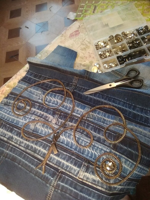 Сумка изстарых джинс от Luba2012