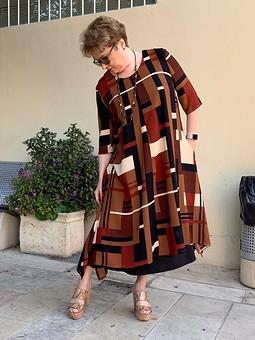 Работа с названием Летнее платье из кашемира