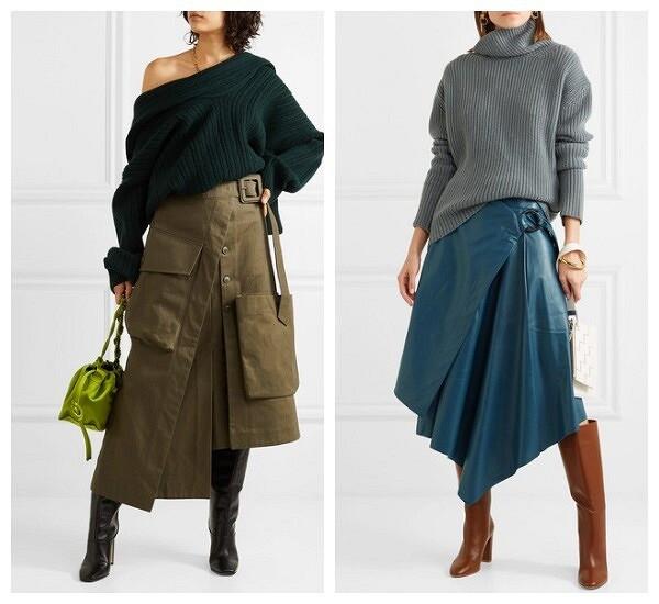 Модные юбки сезона осень-зима 2019-2020: 6 трендов