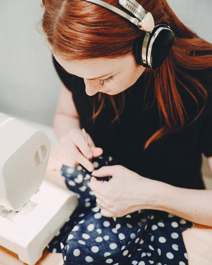 У меня была машинка имножество идей, но абсолютно никаких навыков: швейный instagram недели