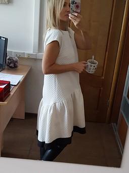 Работа с названием платье а-ля В.Бекхем