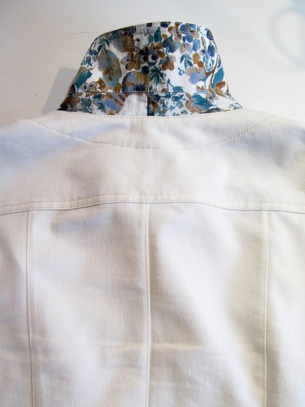 Вместо твида белый джинс... + МК