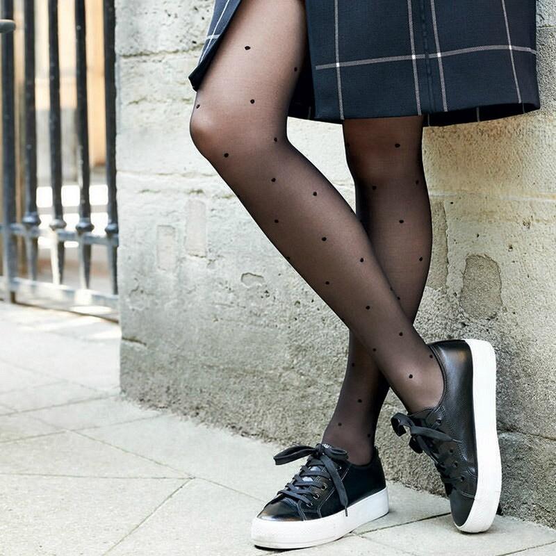 Колготки + кроссовки: да или нет?