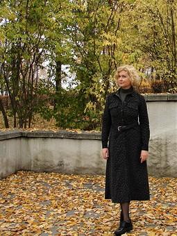 Работа с названием Платье рубашка на осень