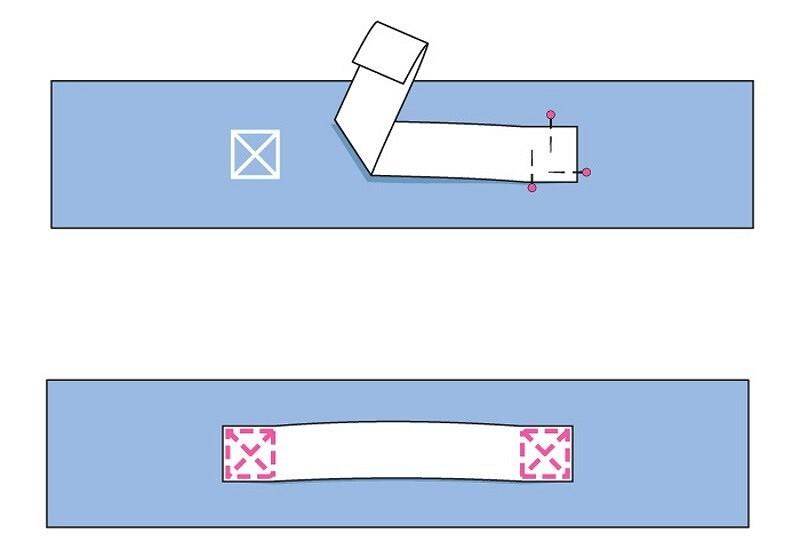 Необычный чехол дляквадратной напольной подушки