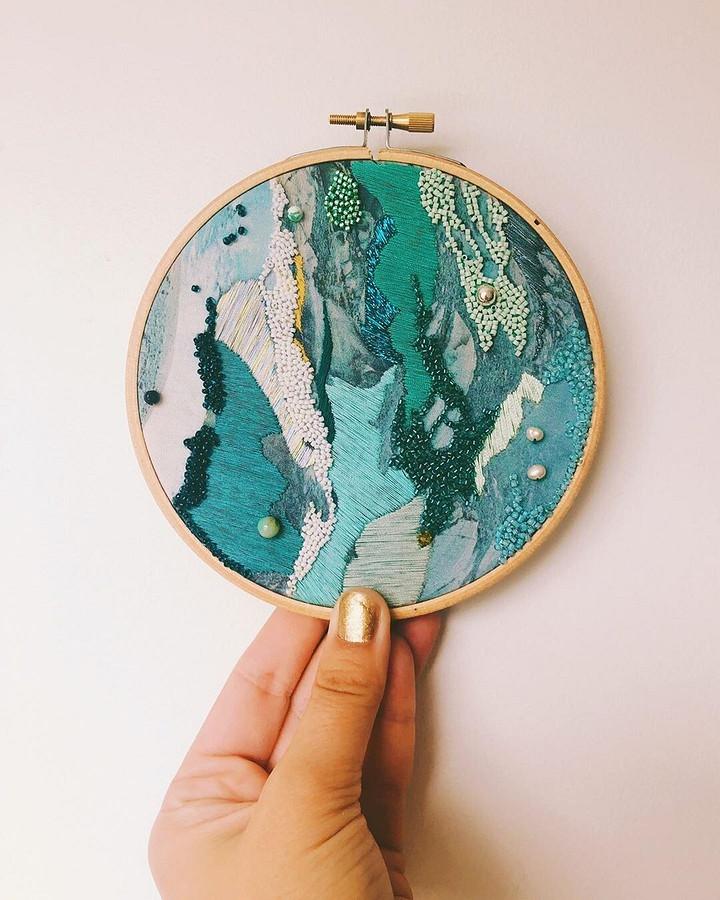 Стежки, вдохновлённые морем: рукодельный instagram недели