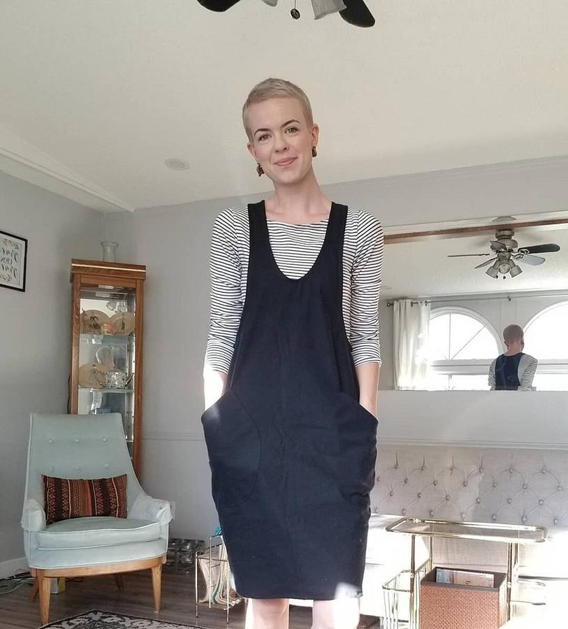 Я обожаю смешивать ткани ипринты, чем занятнее — тем лучше: швейный instagram недели