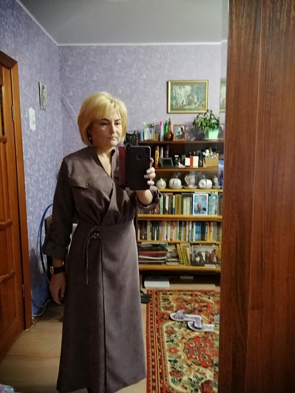 Платье извельвета от Kuleshova
