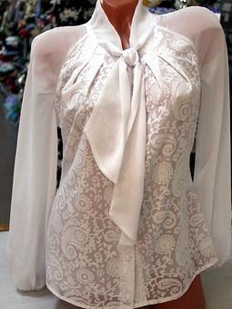 Работа с названием Блузы как любимая часть гардероба