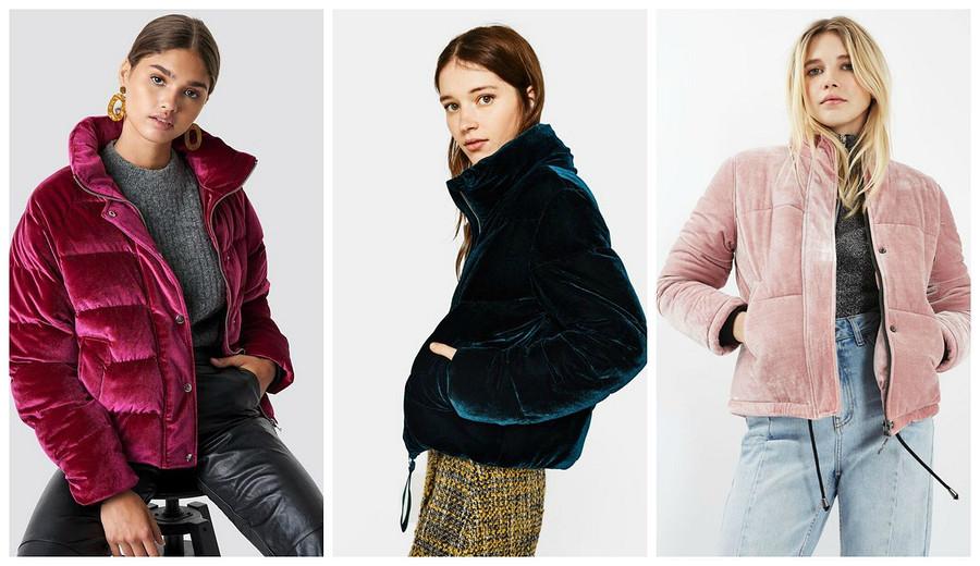 Тренд сезона: бархатная куртка