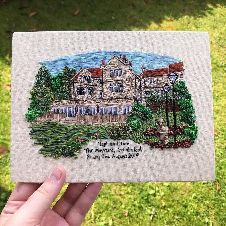 Эксперименты отвыпускницы Королевской школы вышивания: рукодельный instagram недели