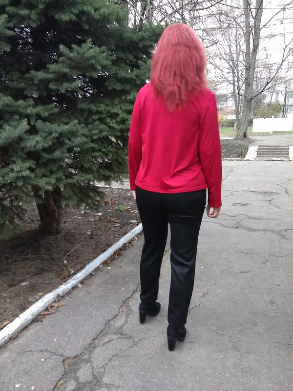 Пуловер «Яркая осень» от marsellin