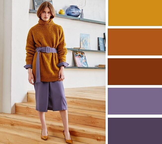 Зимняя палитра: 9 цветовых сочетаний, откоторых захватывает дух
