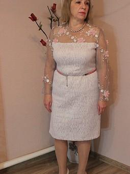 Работа с названием Платье для мамочки