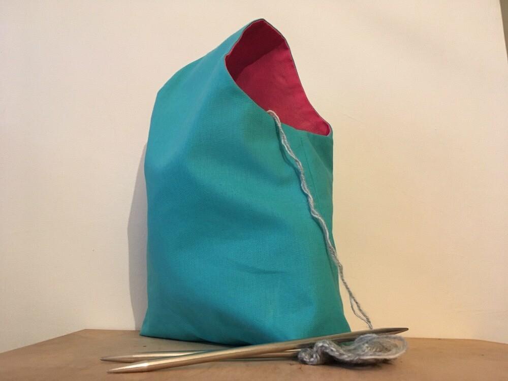 Всё подрукой: походная сумочка длярукоделия — мастер-класс