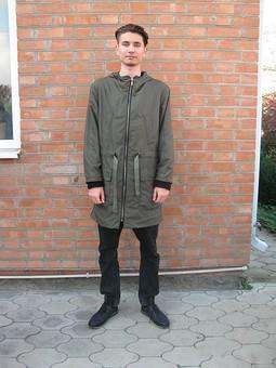 Работа с названием Куртка для сынули