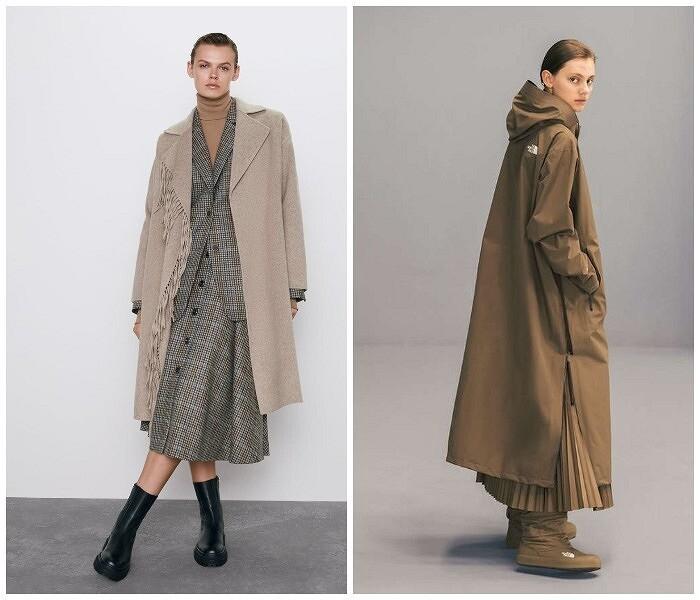Что должно быть длиннее: платье или пальто?