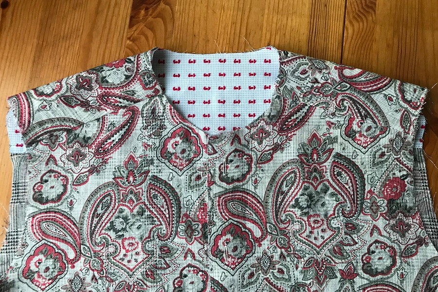 Чистая работа: как пришить двойную кокетку кблузке-рубашке