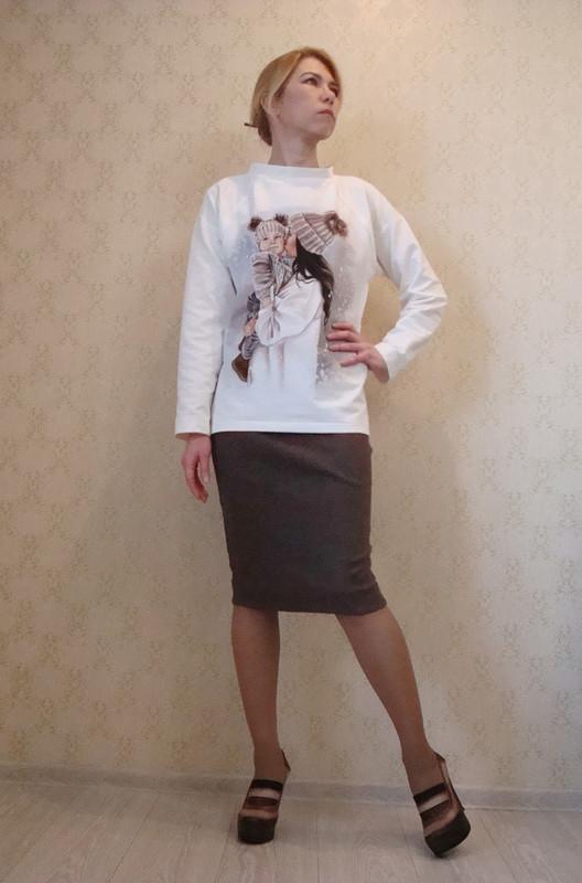 Пуловер «Не удержалась»