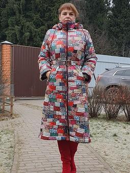Работа с названием Пальто из стежки D&G