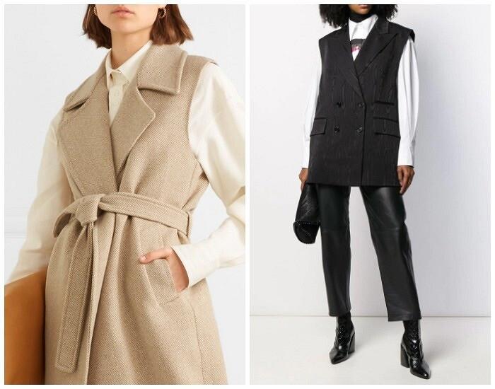 С чем носить жилет зимой: 7 вариантов