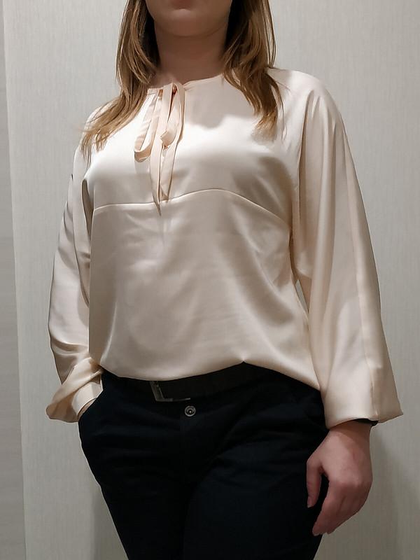 Блузка «Нежность шёлка»