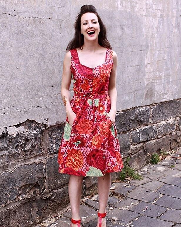 Страсть квинтажной моде: швейный instagram недели