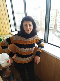 Работа с названием Вязаный свитер