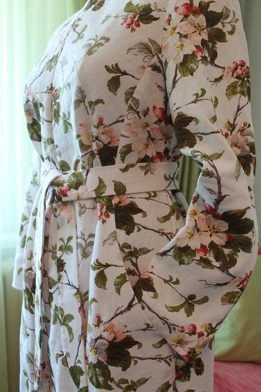 Платье-пальто изрогожки от Анна Блёсткина