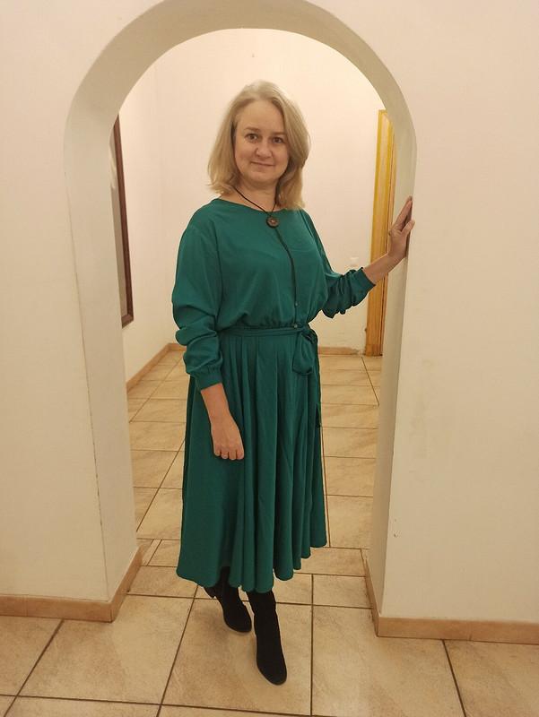 Платье «На НГ я буду елочкой»