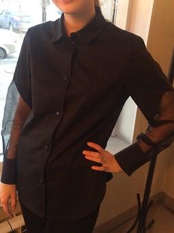 Работа с названием Та самая блузка