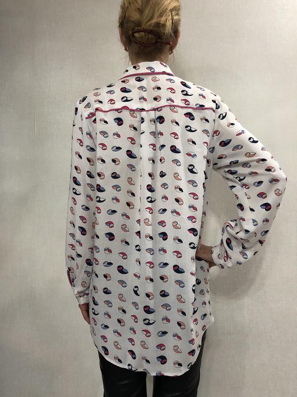 Рубашка в«птичку»