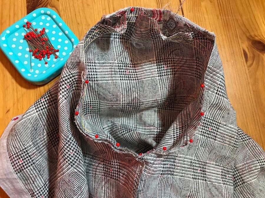 Метод Эллочки-людоедочки, или Как перешить мужскую рубашку вженскую