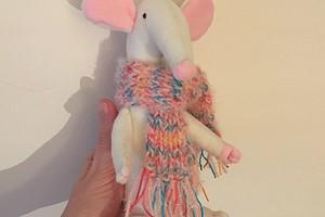 Символ года — белая крыса: шьём игрушку своими руками