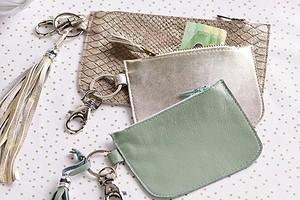 Просто и красиво: кожаный кошелёк-ключница своими руками