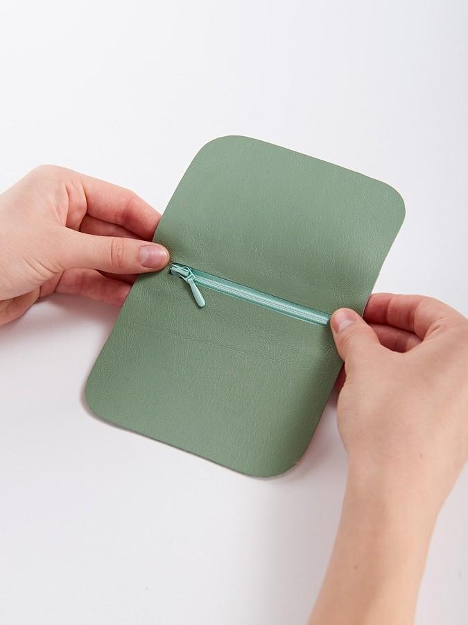 Просто икрасиво: кожаный кошелёк-ключница своими руками