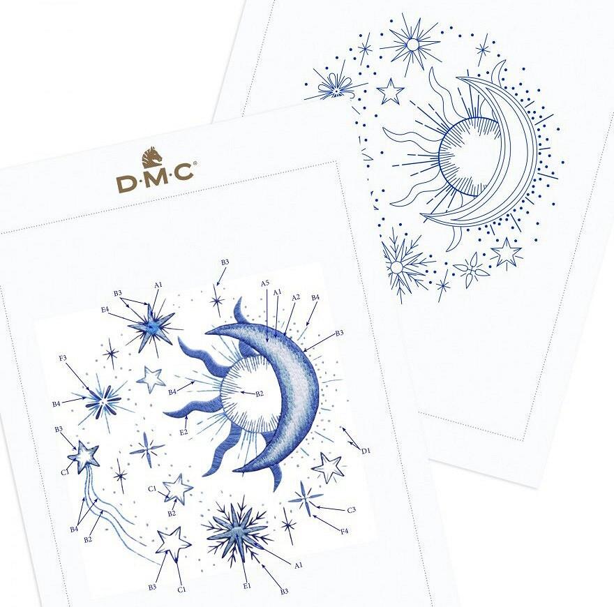 Мулине DMC Étoile: обзор ниток имастер-класс повышивке