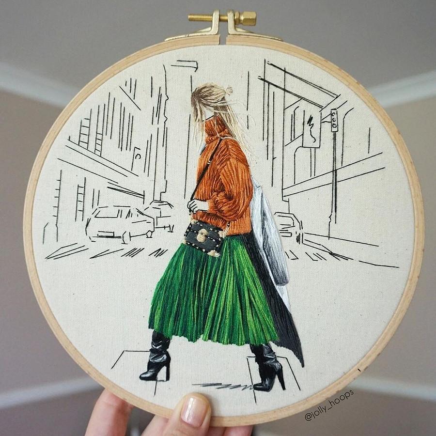 Микс вышивки имоды: рукодельный instagram недели