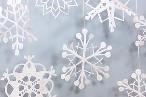 Самые красивые снежинки из бумаги: 40 шаблонов разной сложности