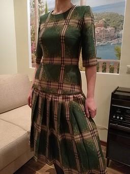 Работа с названием Костюм: Юбка и блузка