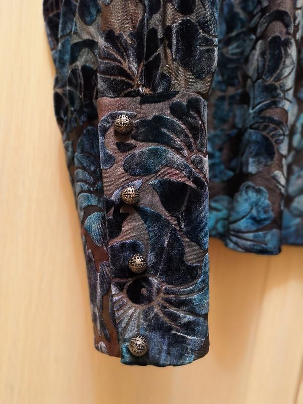 Блузка июбка «Бархатные узоры» от okkuva