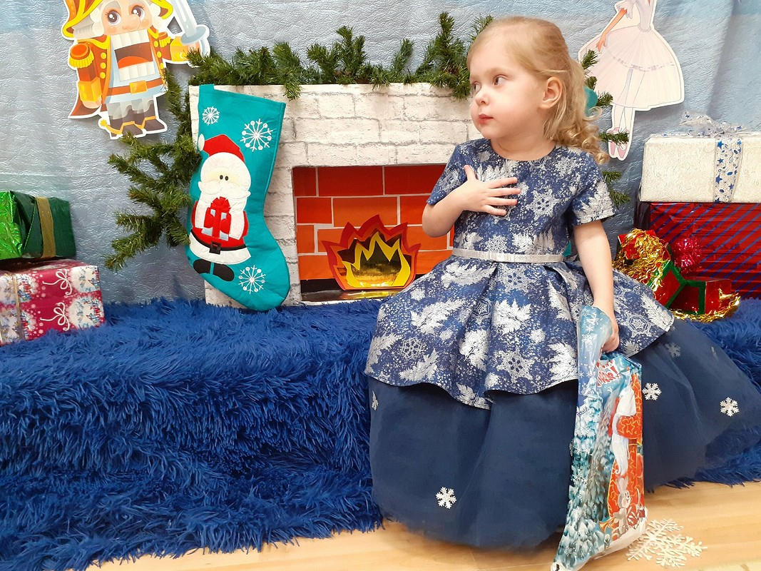 Новогоднее платье наутренник от Georgette