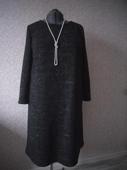 Работа с названием Простенькое платье