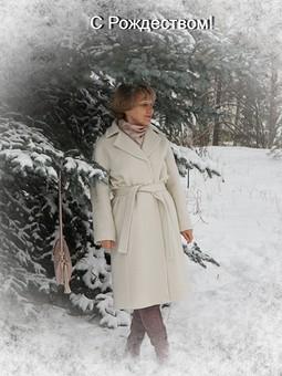 Работа с названием Рождество на ФФ  и в Снежинске. Пальто