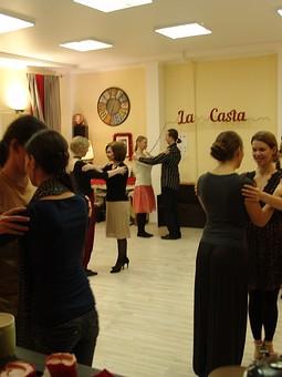 Работа с названием  Юбка из Burda. Аргентинское танго