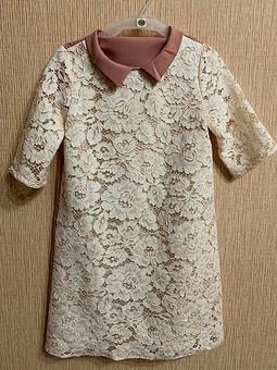 Работа с названием Кружевное платье для маленькой леди